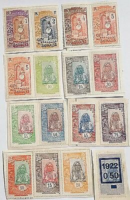 Somali Coast Unused Stamps/mounted ...worldwide Stamps