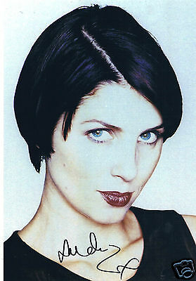 Sadie Frost  British Film and TV Actress Hand Signed Photograph 12 x 10
