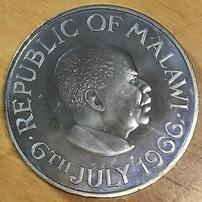 Malawi 1966 Crown; KM-5; Proof (#cr26)