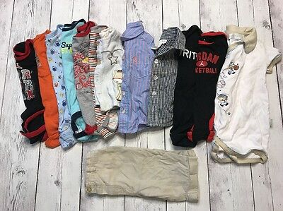 Baby Boys 3-6 Month 6-9 Months 13 Pcs Mixed Clothing Lot