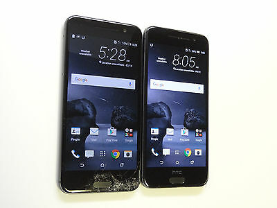 Lot of 2 HTC One A9 2PQ9120 AT&T Smartphones Power On Good LCD AS-IS !