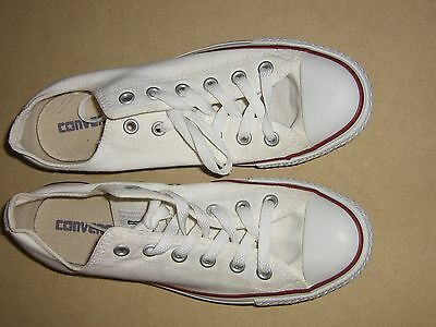 Converse Chuck Taylor All Star white Womens 9 or Mens 7 sneaker shoes