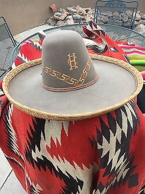 Wonderful Old 1930S Charro Sombrero