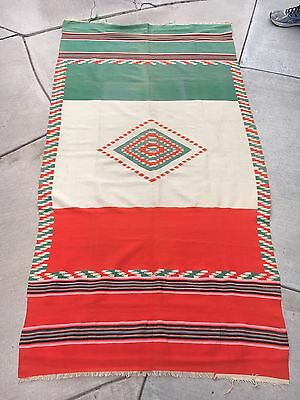 Very Fine Mexican Flag Saltillo Sarape