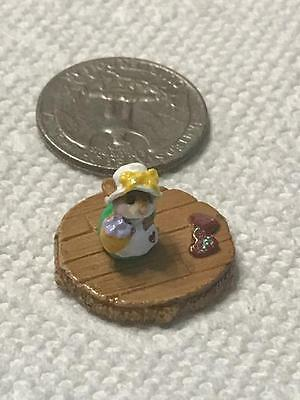 Wee Forest Folk Tiny Mouse Accessory from Folktoberfes 2015.  One of a kind.