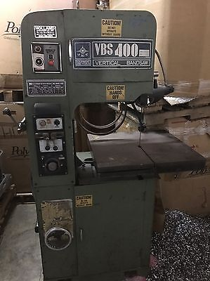 Jet Equipment And Tools VBS-400 Vertical Bandsaw