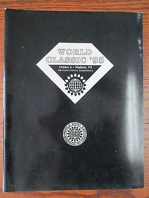 1995 World Dairy Expo Classic Holstein sale catalog-new condition
