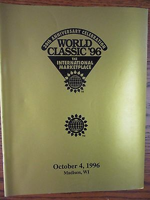 1996 World Dairy Expo Classic Holstein sale catalog-new condition