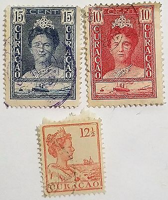 Curacao Used Stamps Scu387Bs....worldwide Stamps