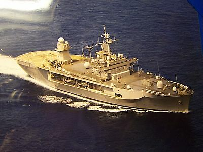 8 x 10 1/4  Dept Of The Navy Photo Unknown Ship