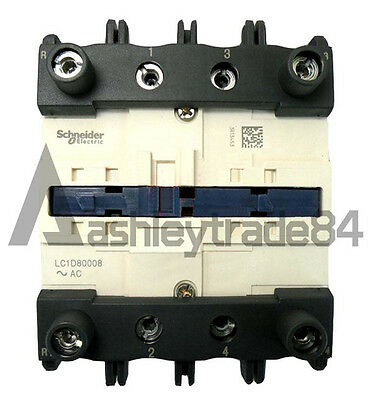 Schneider Contactor LC1D80008E7 New In Box