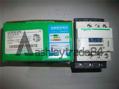 Schneider Contactor LC1D12C7 New In Box