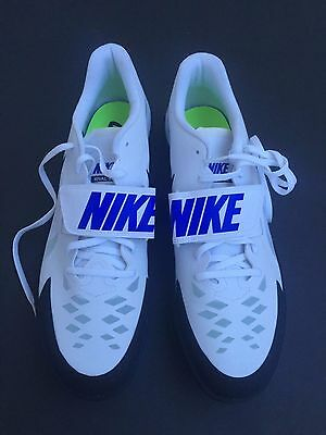 Nike Zoom Rival SD 2 Shot Put Discus Track Shoes 685134-100 White Men's Sz 15