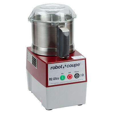Robot Coupe R2 ULTRA B Electric Food Processor w/ 3 Qt. Stainless Steel Bowl