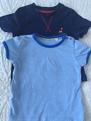 Baby boy 2 t-shirts BHS & George size 9-12 months