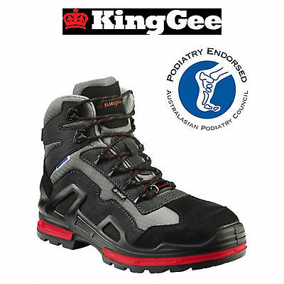 Kinggee Workcool Mens Safety Boots Composite Toe Cap/industrial/lightweight