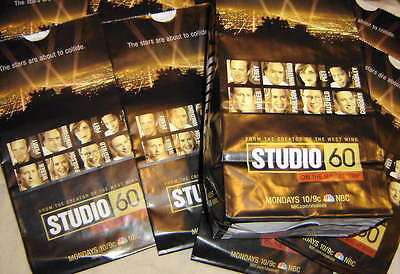 """10 POPCORN BAGS from TV-SERIES """"Studio 60 From The Sunset Strip"""" MATTHEW PERRY"""