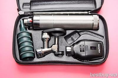 WELCH ALLYN DIAGNOSTIC SET w/ 21700 OPERATING OTOSCOPE OPHTHALMOSCOPE VETERINARY