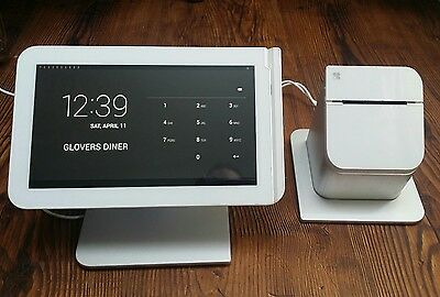 Clover Station C100 POS Retail Touch Screen & P100 Printer