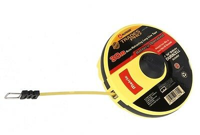 Trades Pro 30M Auto Retracting Long Line Tape Measure New