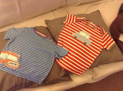 Baby Boden and John Lewis T-shirts bundle - Boys Age 18-24 Months