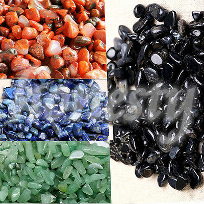 10g Natural Gravel Crystal Stone Rock Specimen Rough Polished For Fish Tank New