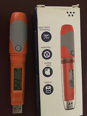 refrigeration data logger pen USB battery waterproof
