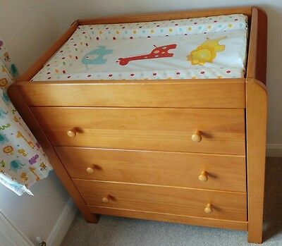 Mamas and Papas Hayworth Dresser Baby Changer Chest of Drawers Changing Table