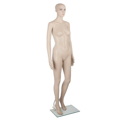 Full Body Female Male Mannequin Cloth Display Tailor Dressmaker Skin Tone 175cm