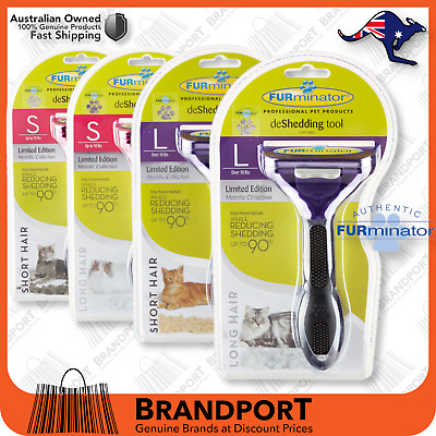 Furminator for CATS, LARGE or SMALL, Long or Short hair  AUS AUTHORISED DEALER