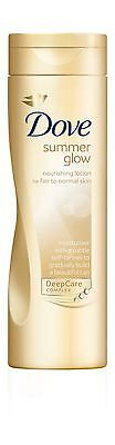 Dove Summer Glow Nourishing Lotion Fair To Normal Skin Gradual Self Tanner