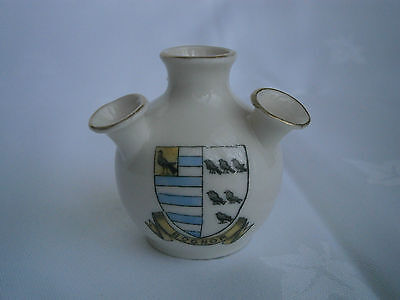 GEMMA Crested China - BOGNOR - Tulip Vase - Very good condition