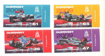 Guernsey - F1 Motor Racing Grand prix set mnh