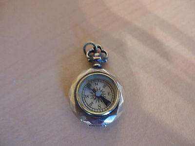 French Antique Compass For A Chatelaine - Chatelaine Compass