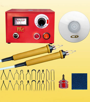 New 50W Multifunction Pyrography Machine Gourd Wood Crafts Tool Kit