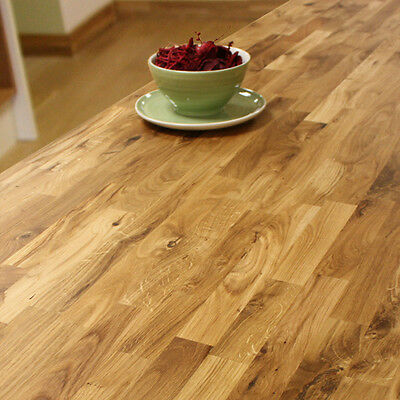Oak Worktops Farmhouse style Rustic Solid Wood Timber. Oil and Accessories