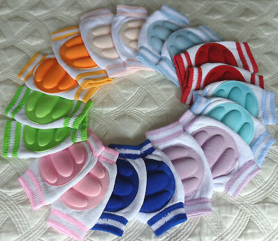 Baby Knee Pads Toddler Knee Pads Elbow Pads Crawl Safety Protector New UK seller