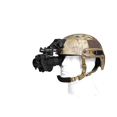 UK Digital IR Night Vision Mount On The Helmet For Rifle Scope Hunting Camping