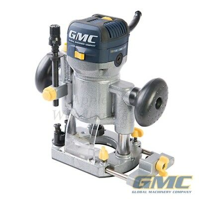 "GMC 710w Plunge & Trimmer Router 1/4"" 732455"