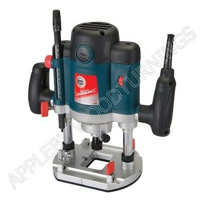 "Silverstorm 2050W 1/2"" Plunge Router Variable Speed  124799"