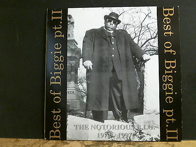 NOTORIOUS B.I.G.  Best Of Biggie Pt. 2.  DBL LP   Lovely copy!