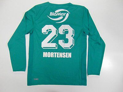 2010 2015 Puma IF Floya Norway home shirt football long sleeve S MORTENSEN #23