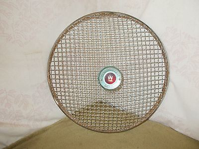 VGT WESTINGHOUSE MOBILAIRE ROUND FAN GUARD GRILLE STEAMPUNK CRAFTS 17-1/2 in.