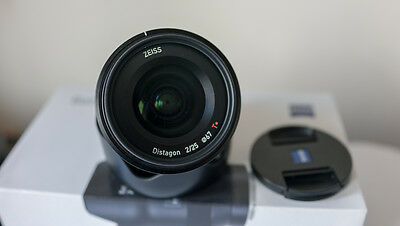 Zeiss Batis 25mm F2 for Sony E mount