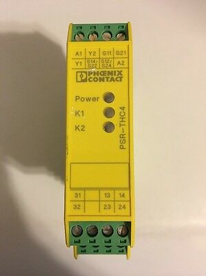 Phoenix Contact, PSR-SCP- 24UC/thc4/2x1/1x2 2963721 Isolation Relay Safety