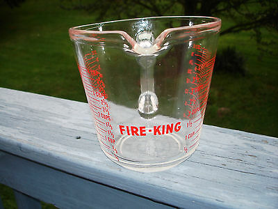 Fire-King 4 Cup-32 Oz Measuring Cup Anchor Hocking 499 Made In Usa