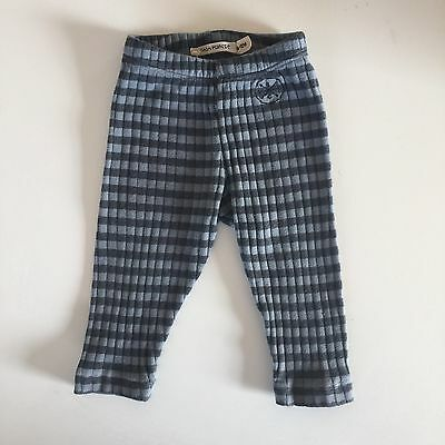 Bobo Choses Grey Striped Leggings/trousers Size 6-12months Good Condition