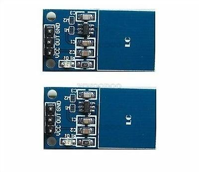 10Pcs Arduino Ttp223 Capacitive Touch Switch Digital Touch Sensor Module New I U