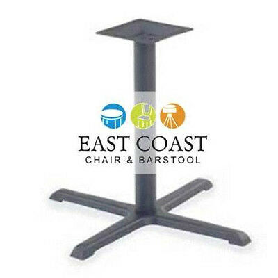 """New 24"""" x 30"""" Cafe X-Style Table Base - Table Height"""