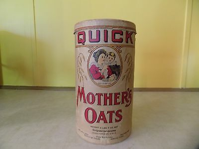 Quick Mother's oats 3 lbs. 7 oz. cardboard container
